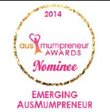 AusMumpreneur Awards Nominee 2014