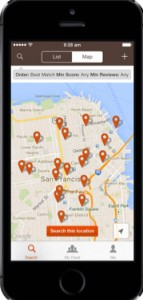 Beanhunter App- best places to find cafes