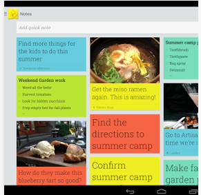 Google_Keep Android Apps