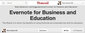 Pinterest: Evernote for Business
