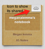 Megan Iemma's Evernote Notebook