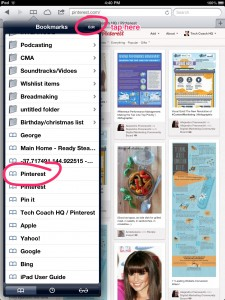 "Add ""Pinterest.com"" to your bookmarks bar."