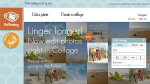 Pic Monkey is a great online photo editing tool.
