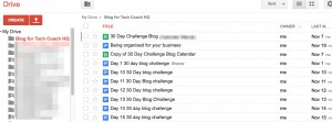 Google Drive: Blog for Tech Coach HQ