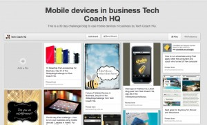 Pinterest Board for Tech Coach HQ