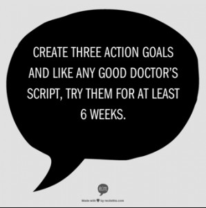 Three action goals