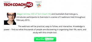 Evernote Webinar Series 2014