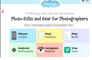 The Photojojo store