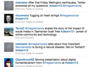 ulearn hashtags twitter
