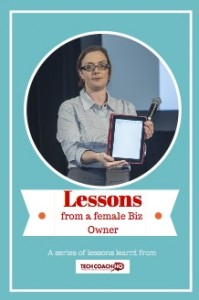 key lessons from a female business owner