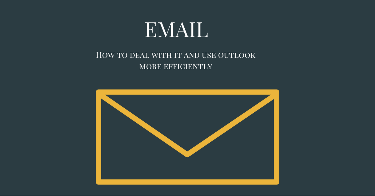 Using Outlook more effectively